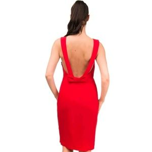 NWT $890 Capucci red cocktail dress-current style